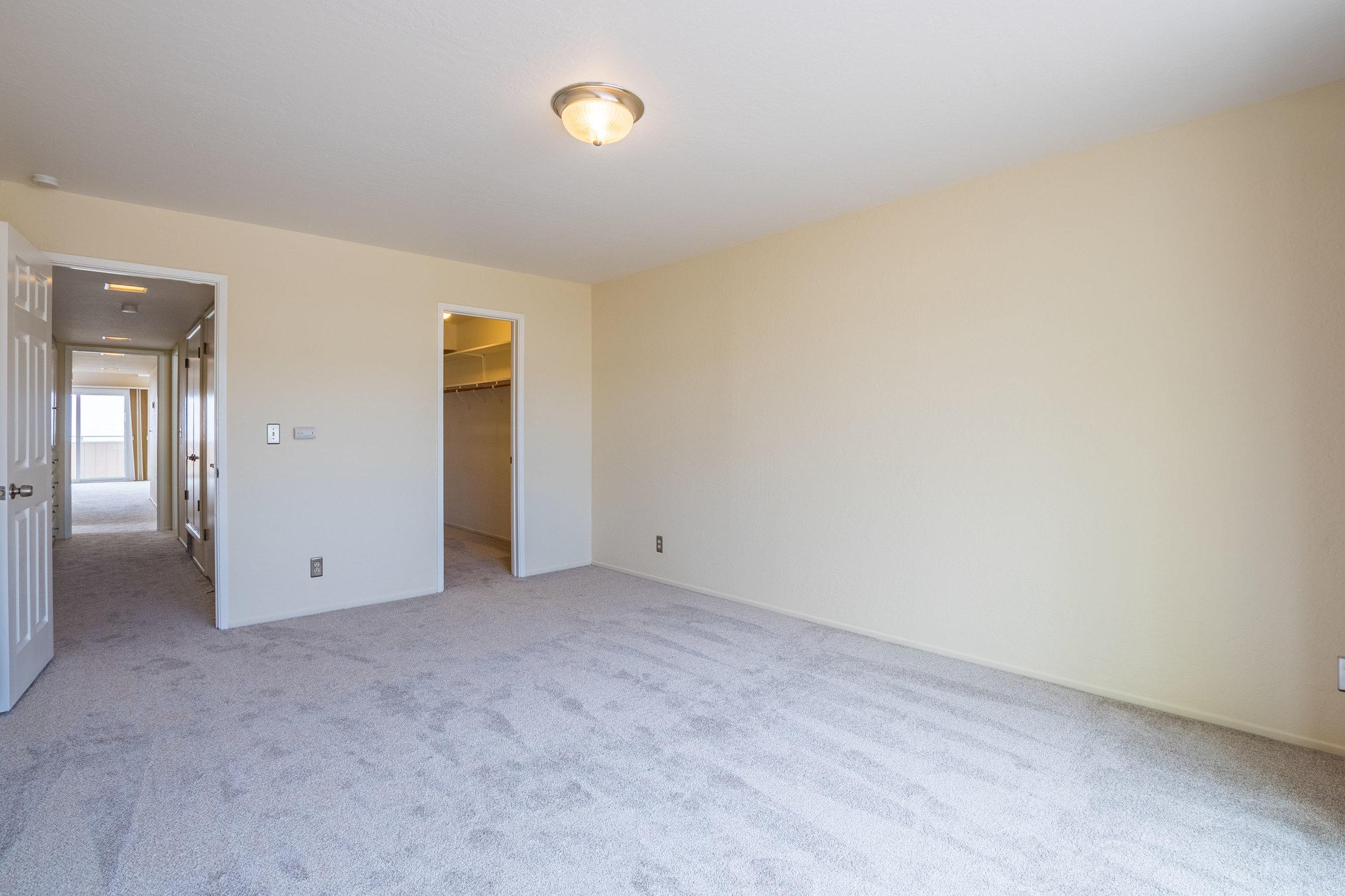 Large Bedroom in Aptos Condo with Ocean Views