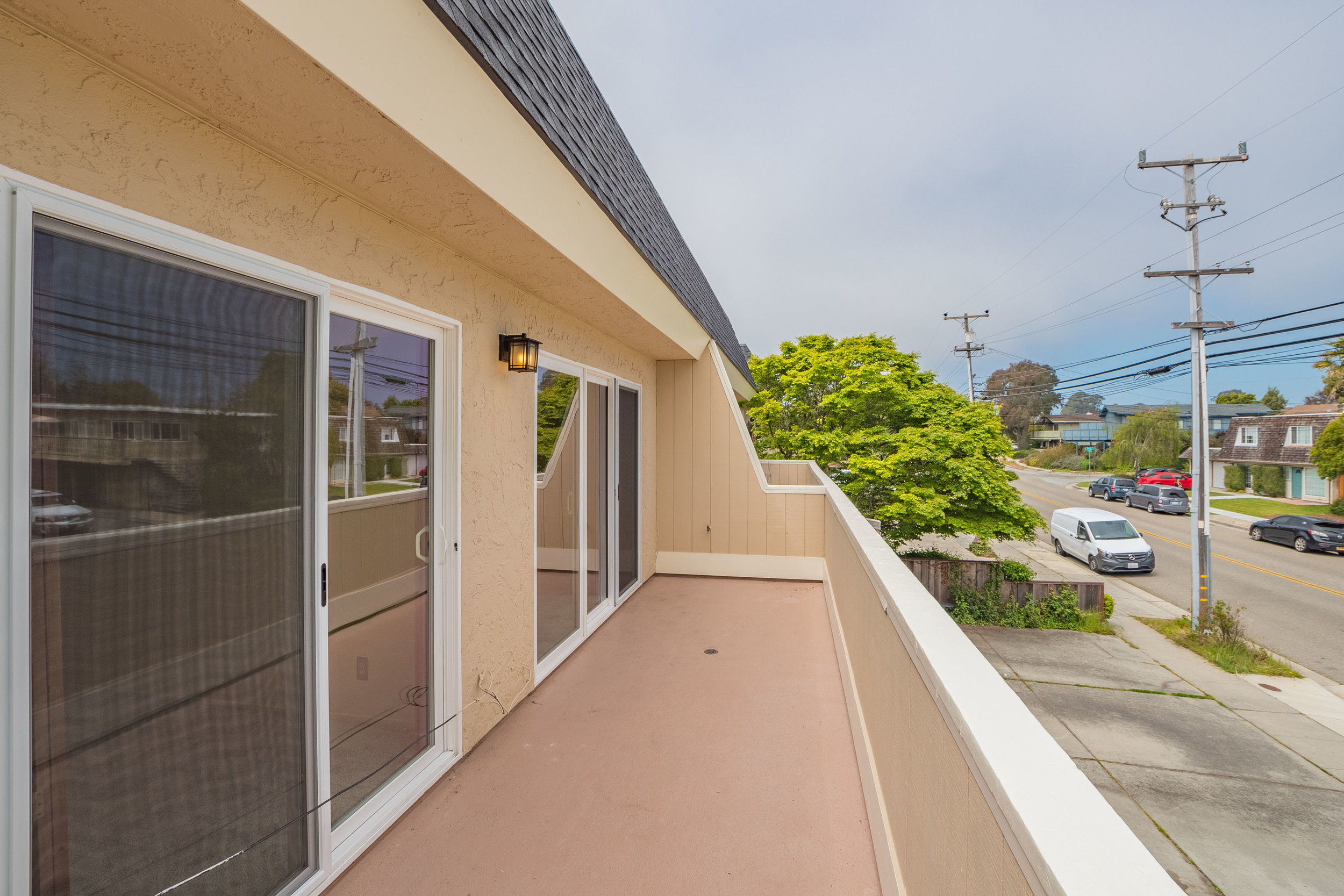 View from Front Baclony Aptos Real Estate