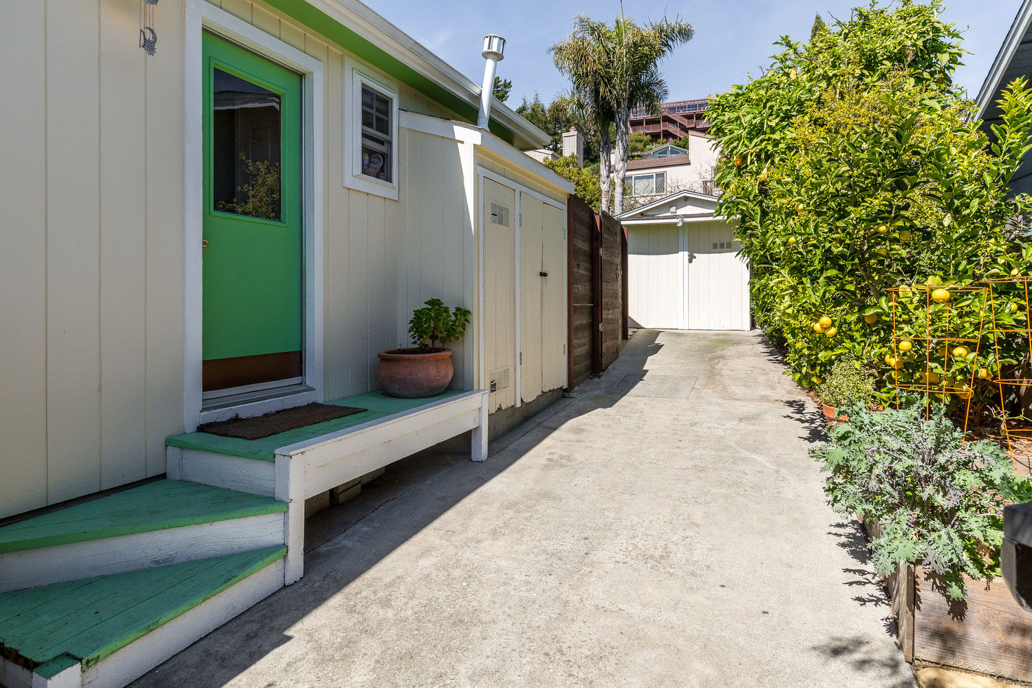 Well maintained lower westside 2 bedroom, 1 bathroom bungalowclose to Highway 1, Swift Street Courtyard, Natural Bridges, Wilder Ranch, and West Cliff.  Listed by Sam Bird-Robinson, Santa Cruz Realtor, of Sereno Group.
