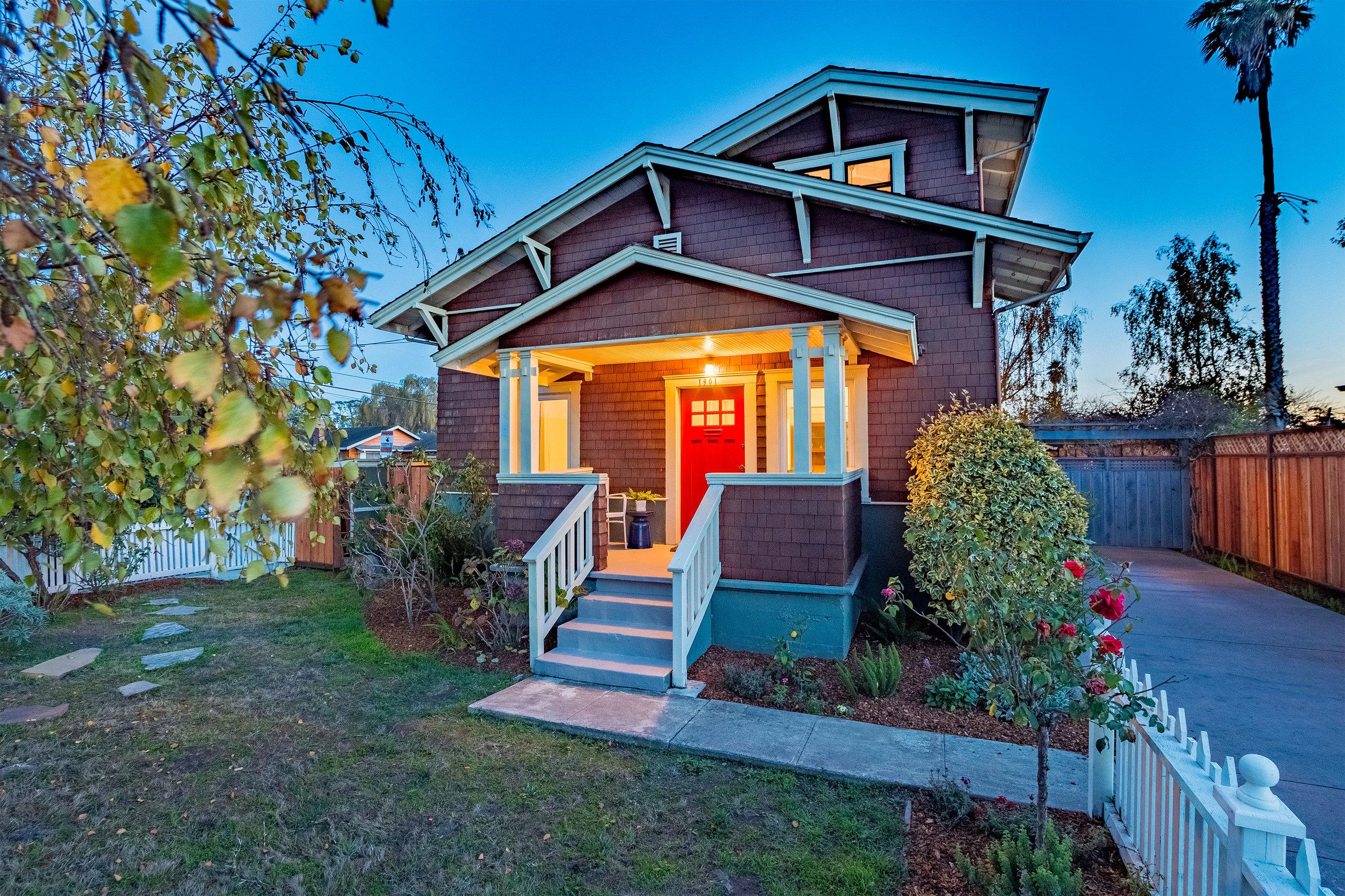 Large Craftsman Style Home in Santa Cruz County