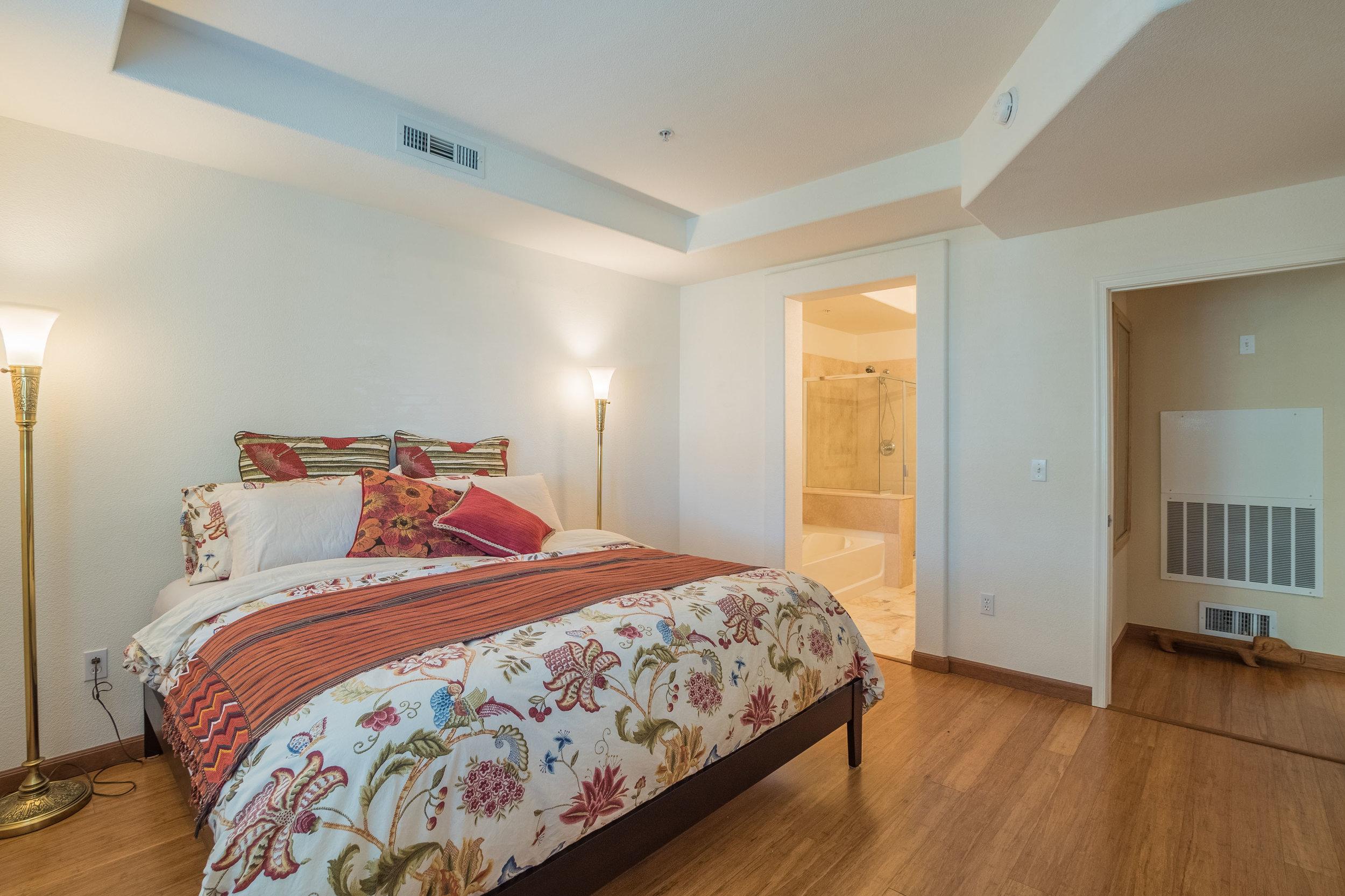 Master Bedroom in Cupertino Condo