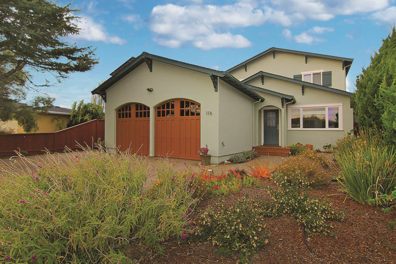 **SOLD 116 Oxford Way, Santa Cruz • $1,900,000  4 Bedroom, 3 Bathroom • 2,161 Sq. Ft.