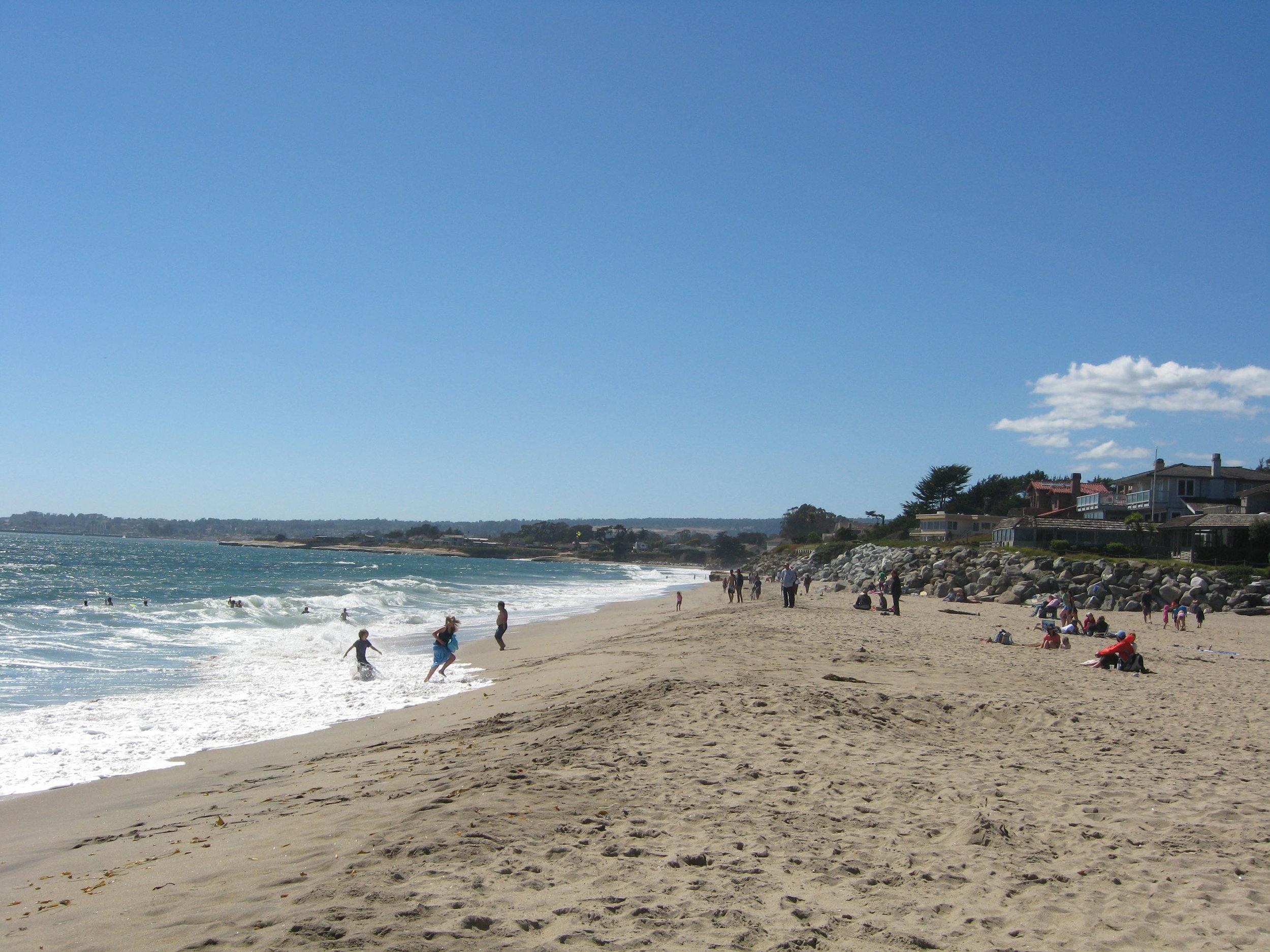 Moran Beach Santa Cruz, California