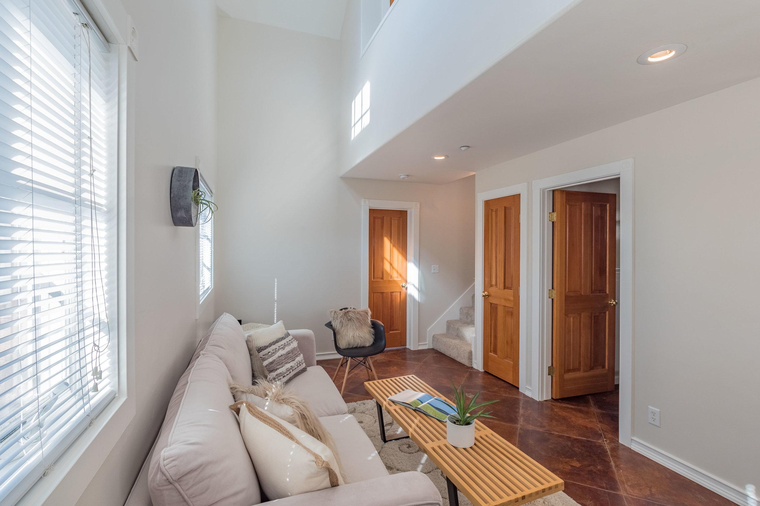 Living Area in ADU
