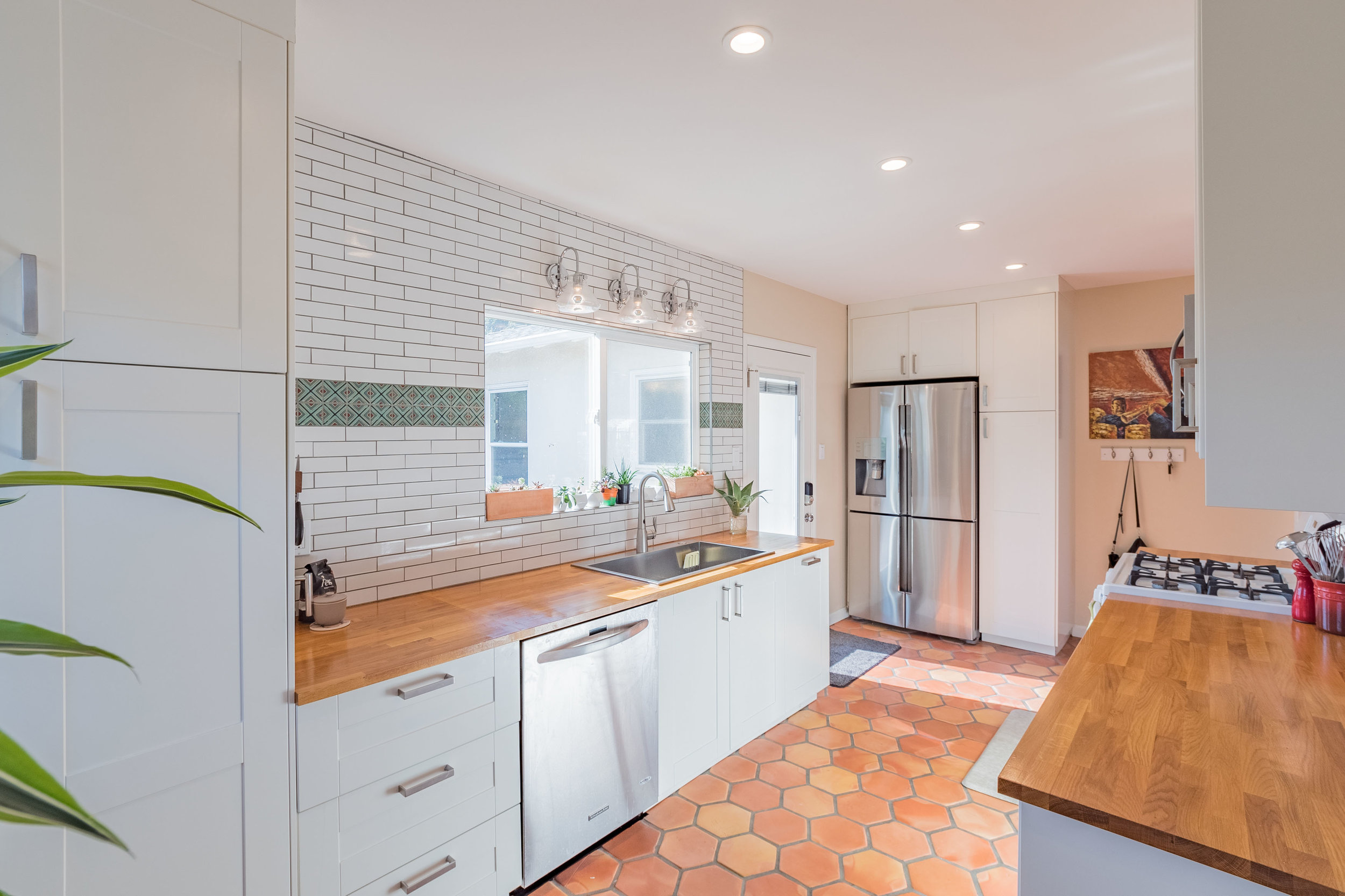 Updated Kitchen with Natural Light