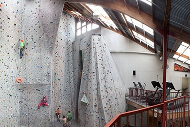 Pacific edge climbing gym - The only climbing gym located in Santa Cruz County is found in the Seabright neighborhood. Pacific Edge Climbing Gym is a premier facility that not only offers an indoor climbing gym but has yoga classes, a weight room, cardio deck and sauna. If you've never climbed before it's not a problem as they offer numerous classes to get you started.
