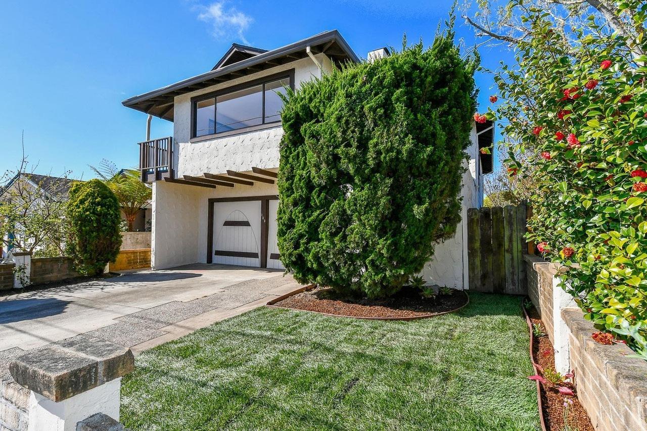 **SOLD 123 Alamo Ave, Santa Cruz • $1,199,250  4 Bedroom, 3 Bathroom • 2,594 Sq. Ft.