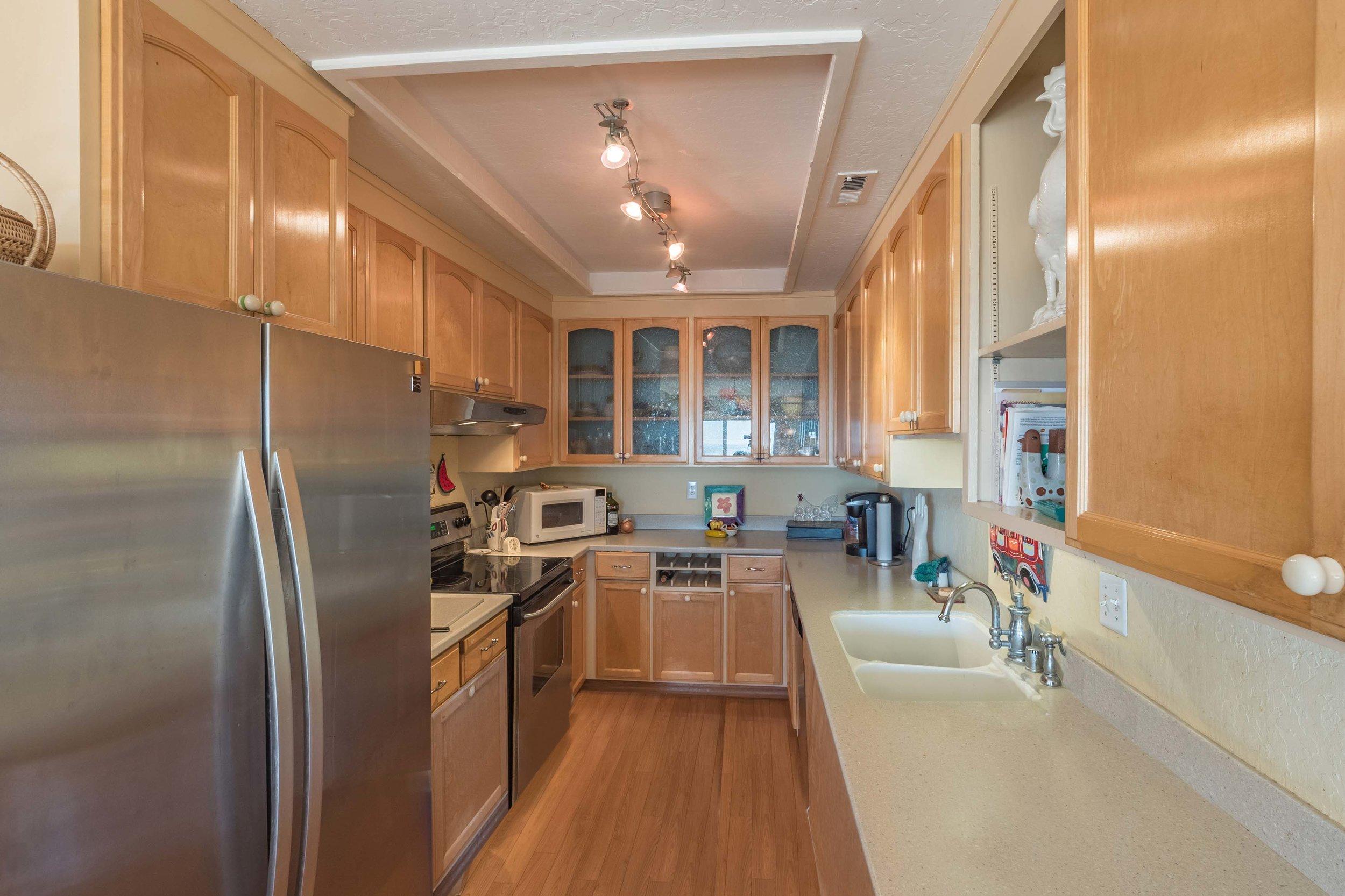 Kitchen Santa Cruz Real Estate