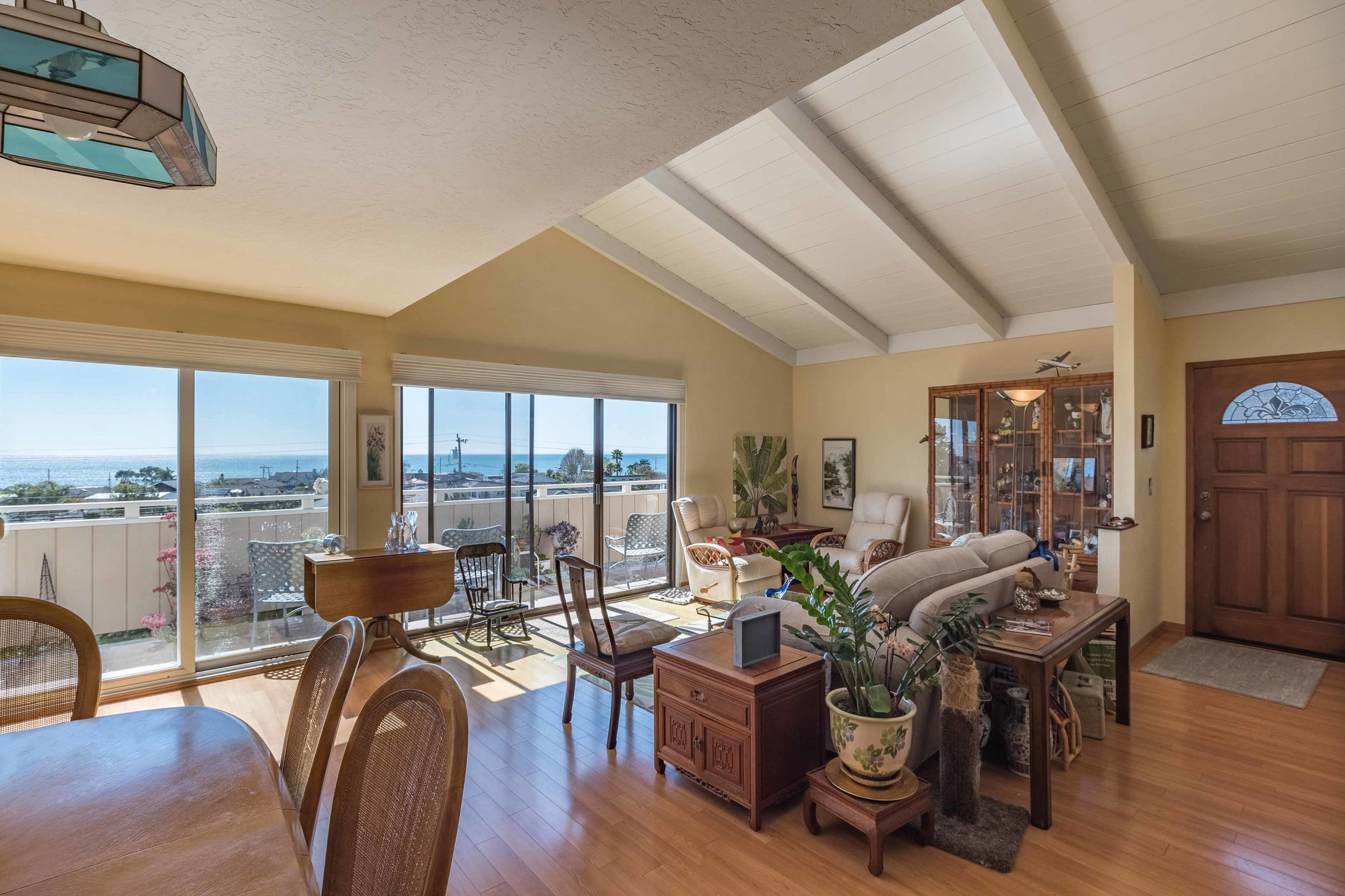 SOLD 261 Sea Ridge Road #4, Aptos • $759,000  3 Bedroom, 2 Bathroom • 1,548 Sq. Ft.