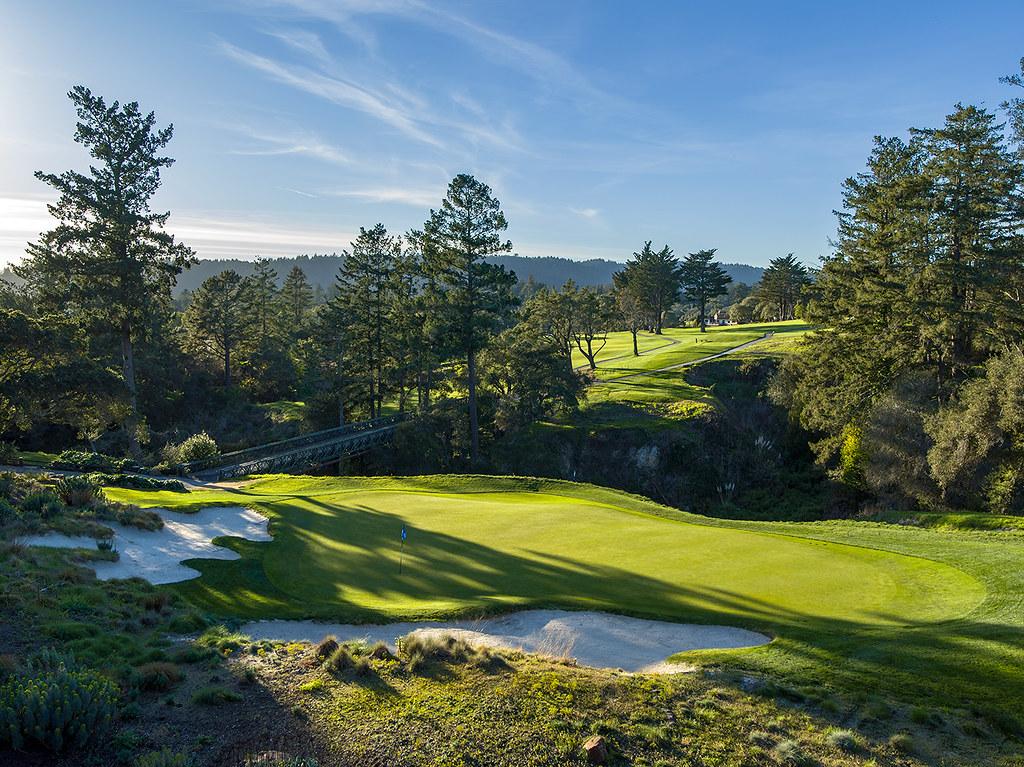 18th Hole, Pasatiempo Golf Club