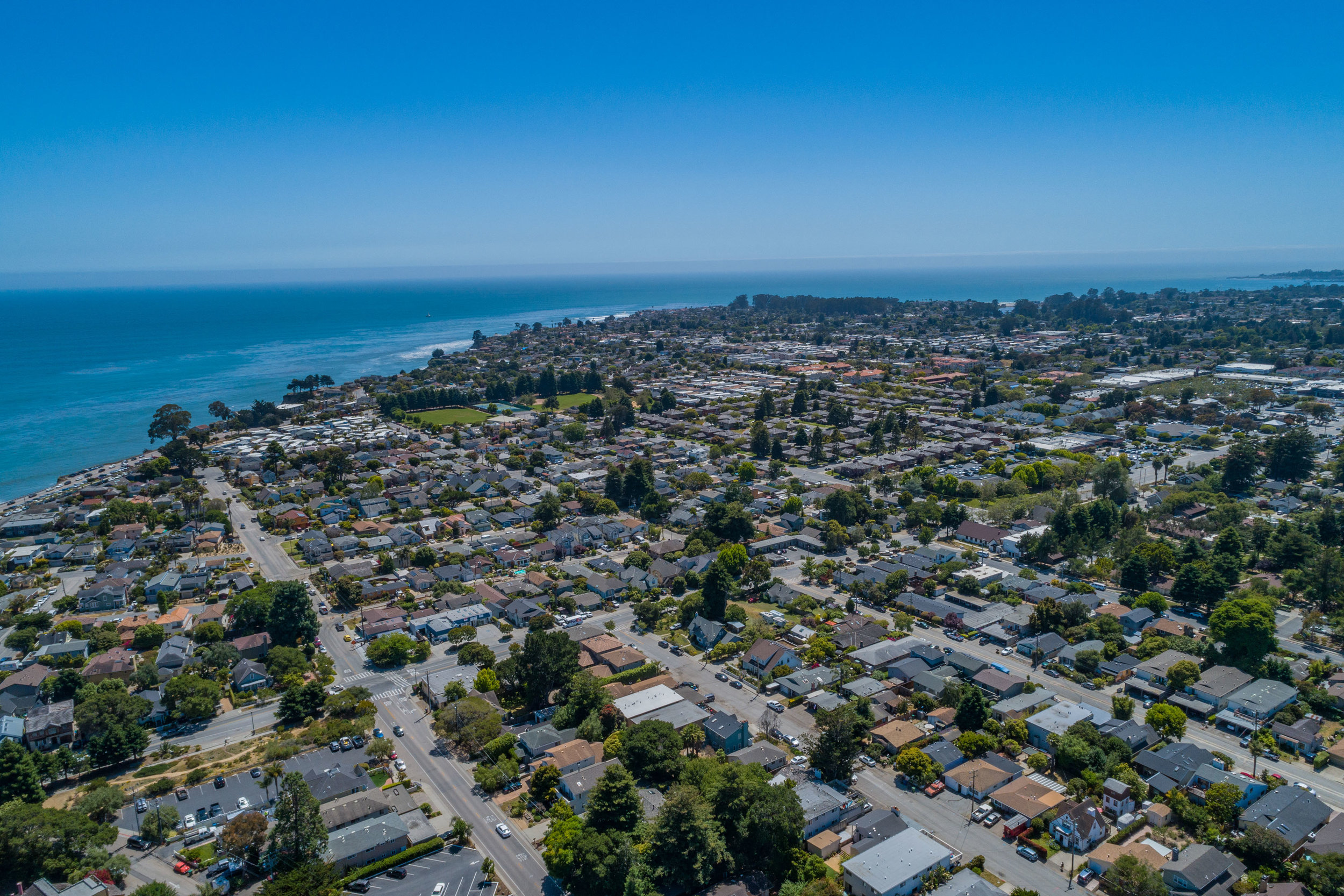Aerial View of Capitola