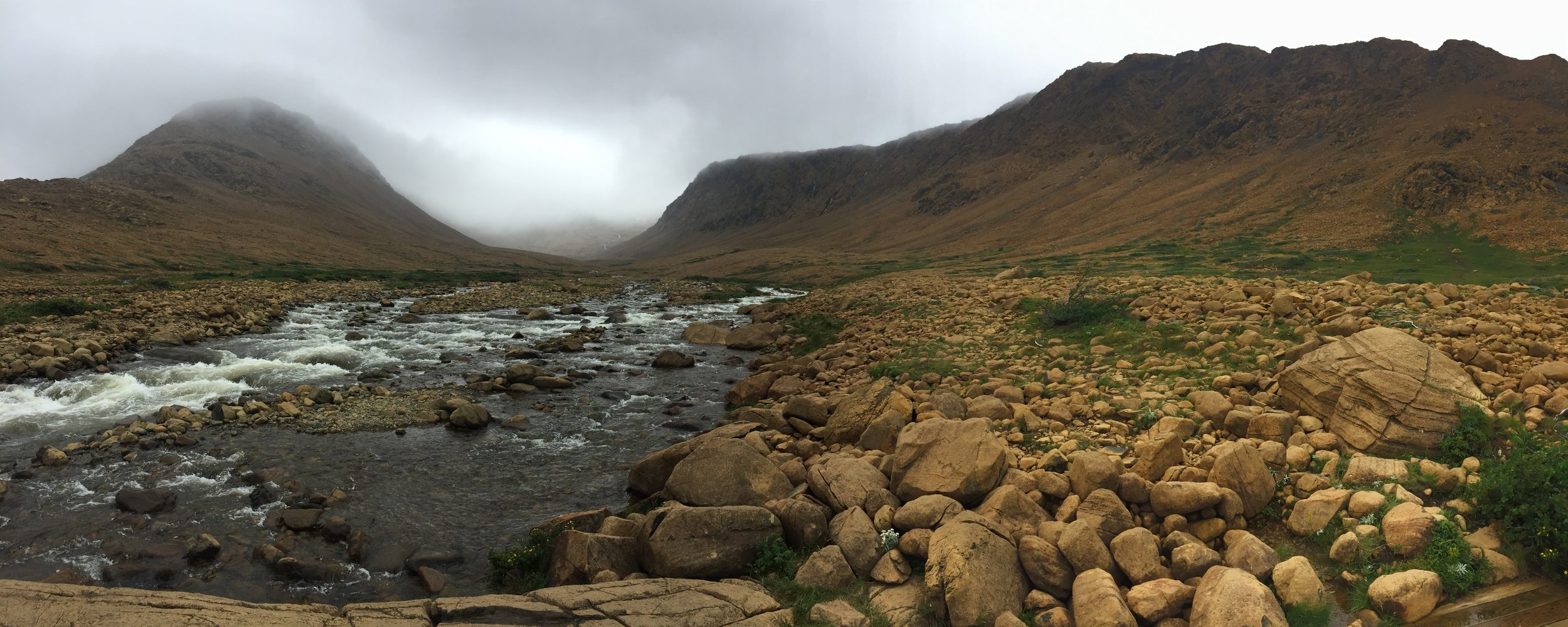 While C.D was busy moving Amanda was hiking in the Tablelands.