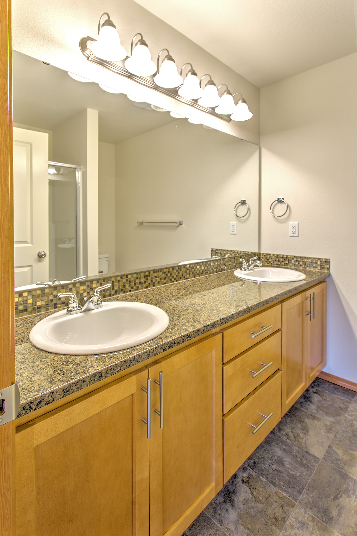 Master Bath with Dual Vanity