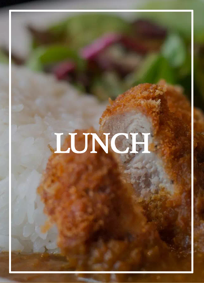 Toku Lunch Menu