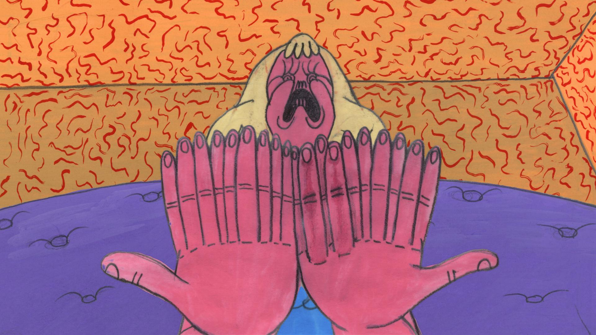 Hot Dog Hands   Director/Writer/Producer: Matt Reynolds // USA  This woman can't stop growing fingers.