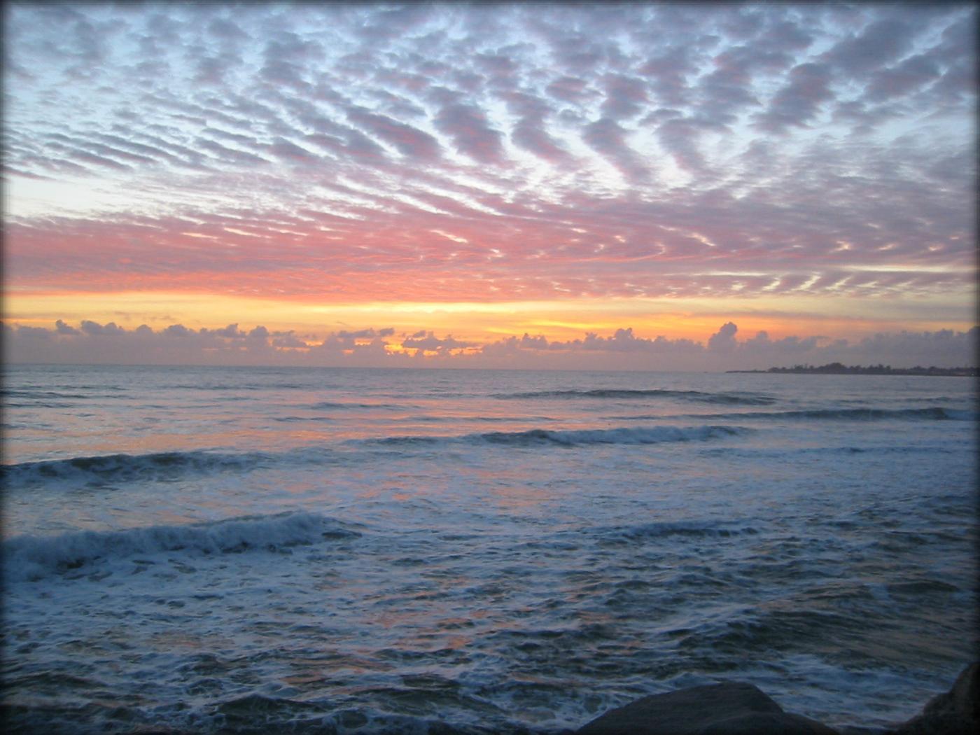santa cruz sunset 2001