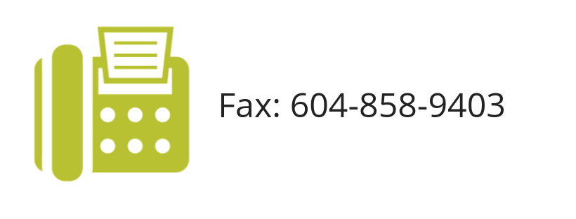 Please fax all reports, chart requests, and imaging requests above.