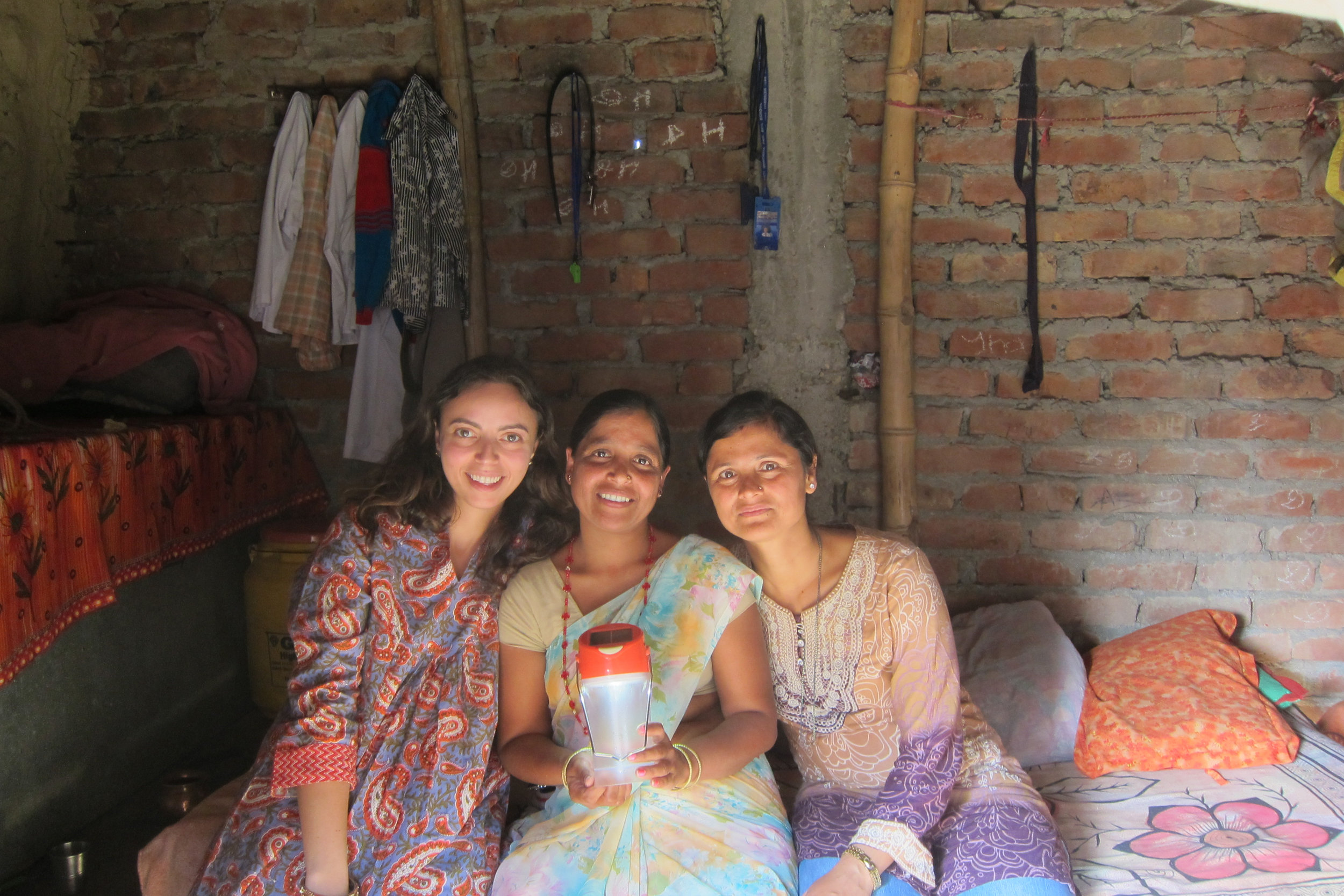 Anya, Empower Generation entrepreneur Runa Jha, and Sita
