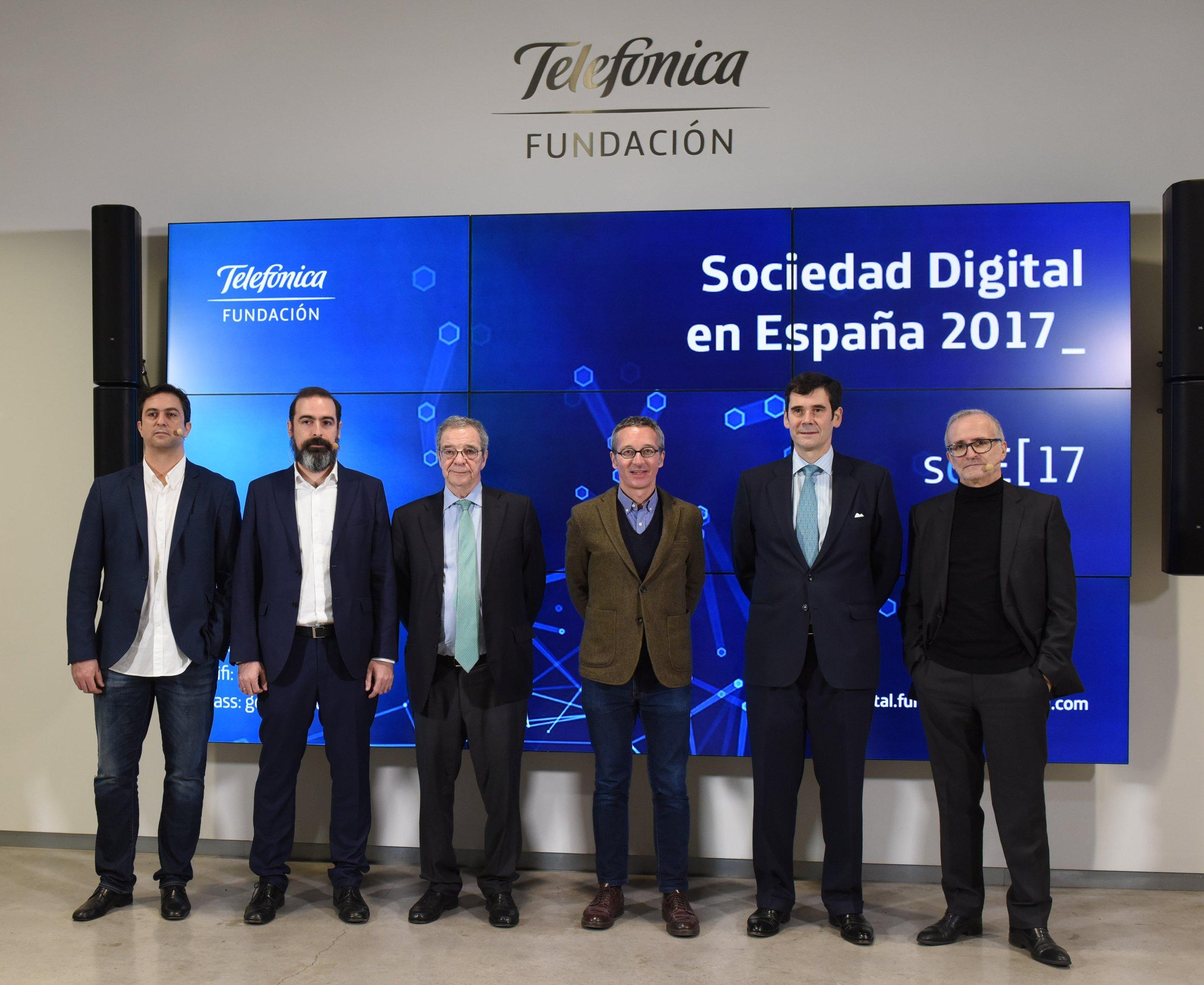presentacion informe sociedad digital en espana 2017