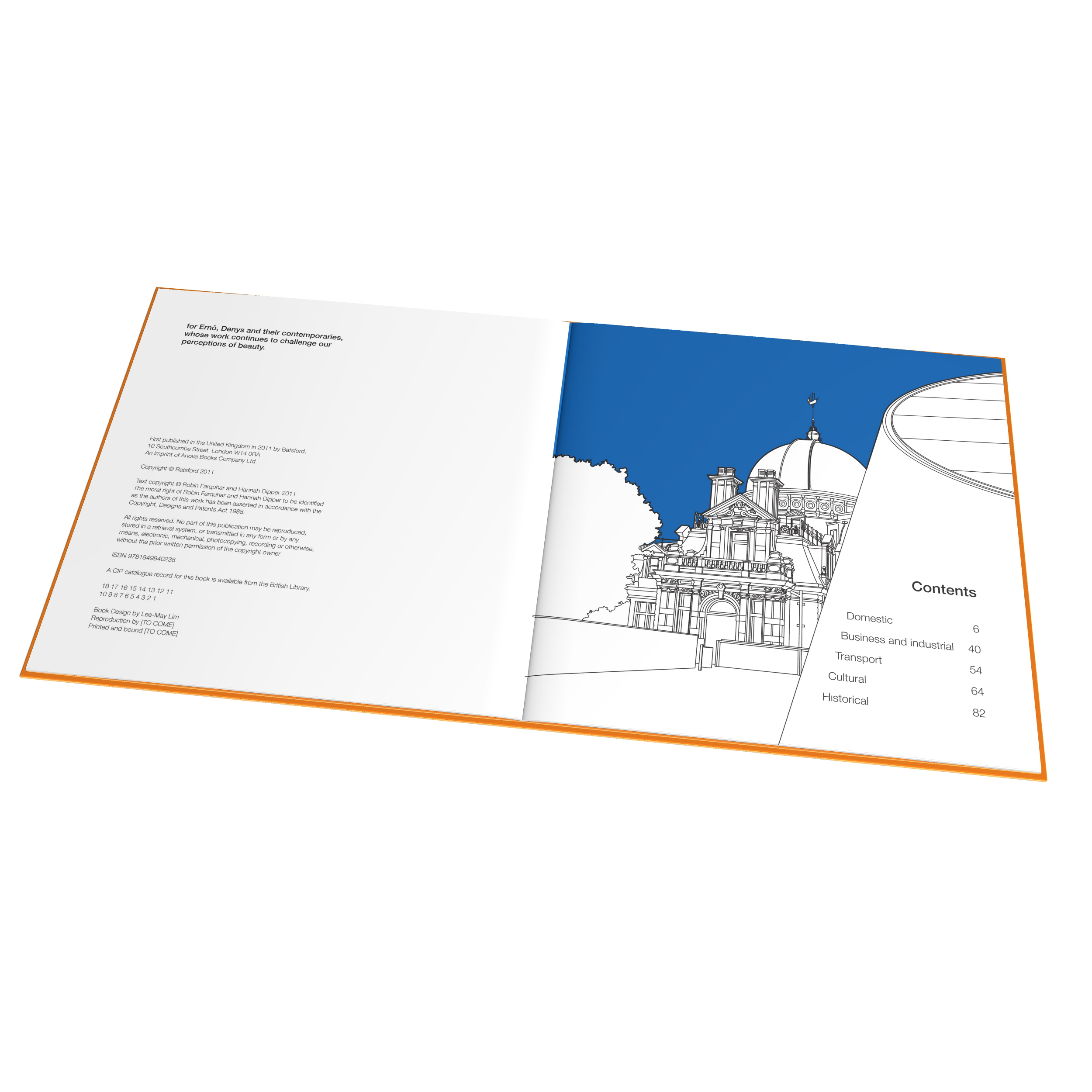 London Buildings - spread 1