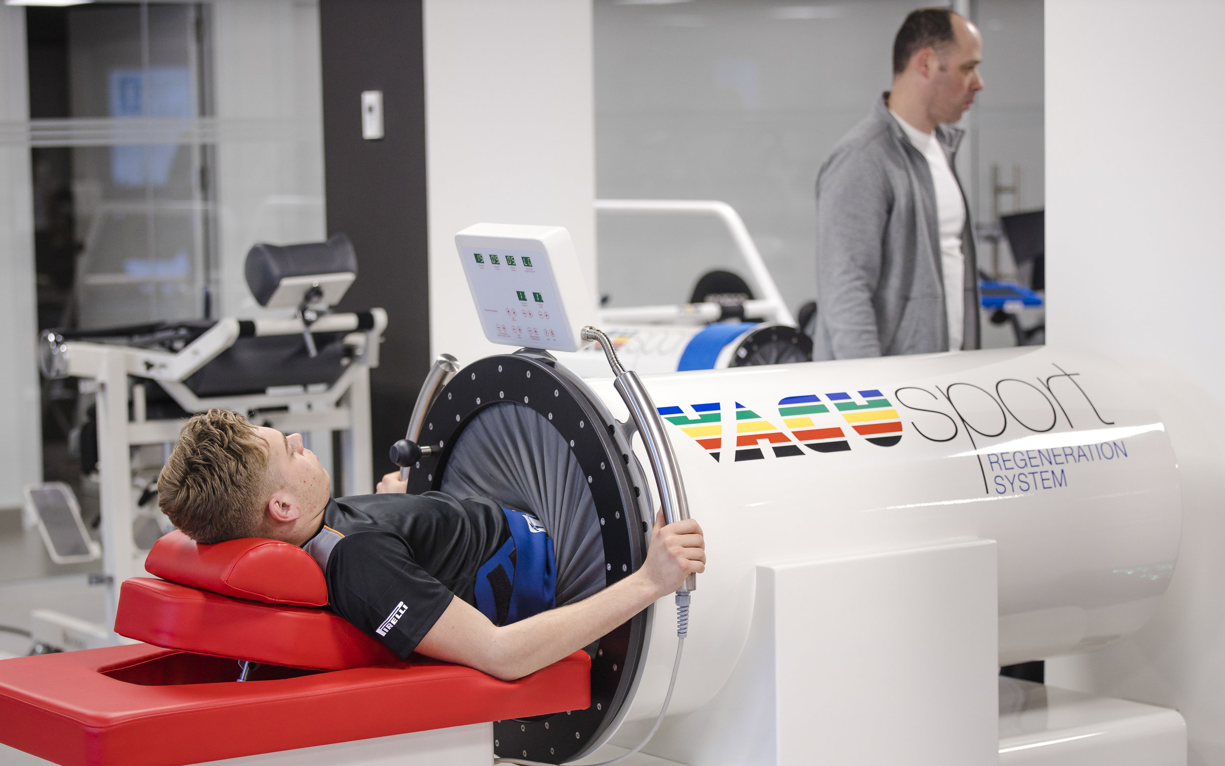 Vacusport regeneration system to speed up muscle recovery
