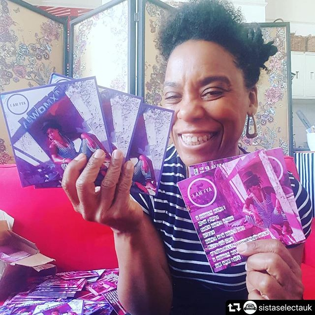 So proud of this one My Sista girl @iamfyamusic -  Partner in Grime, co-creator of Sista Selecta. She's gone and brought out an Album. What's she like!!!! She's a legend that's what she is. . . Tonight we kick start our 3 day @sistaselectauk Takeover @thespirearts  With I am Fya Album launch Go to @sistaselectauk for the link to the event page. . . #bestfriendgoals #femaledjs #positivevibes #sisterhood #brightonfringe #brightonfringefestival #femaleartists