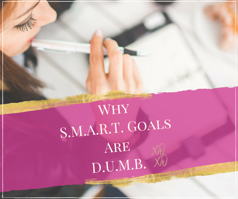 •Dreams are a moving target, you need a plan •  Why S.M.A.R.T. goals are D.U.M.B.!  Discover Goal Setting Secrets for Success.