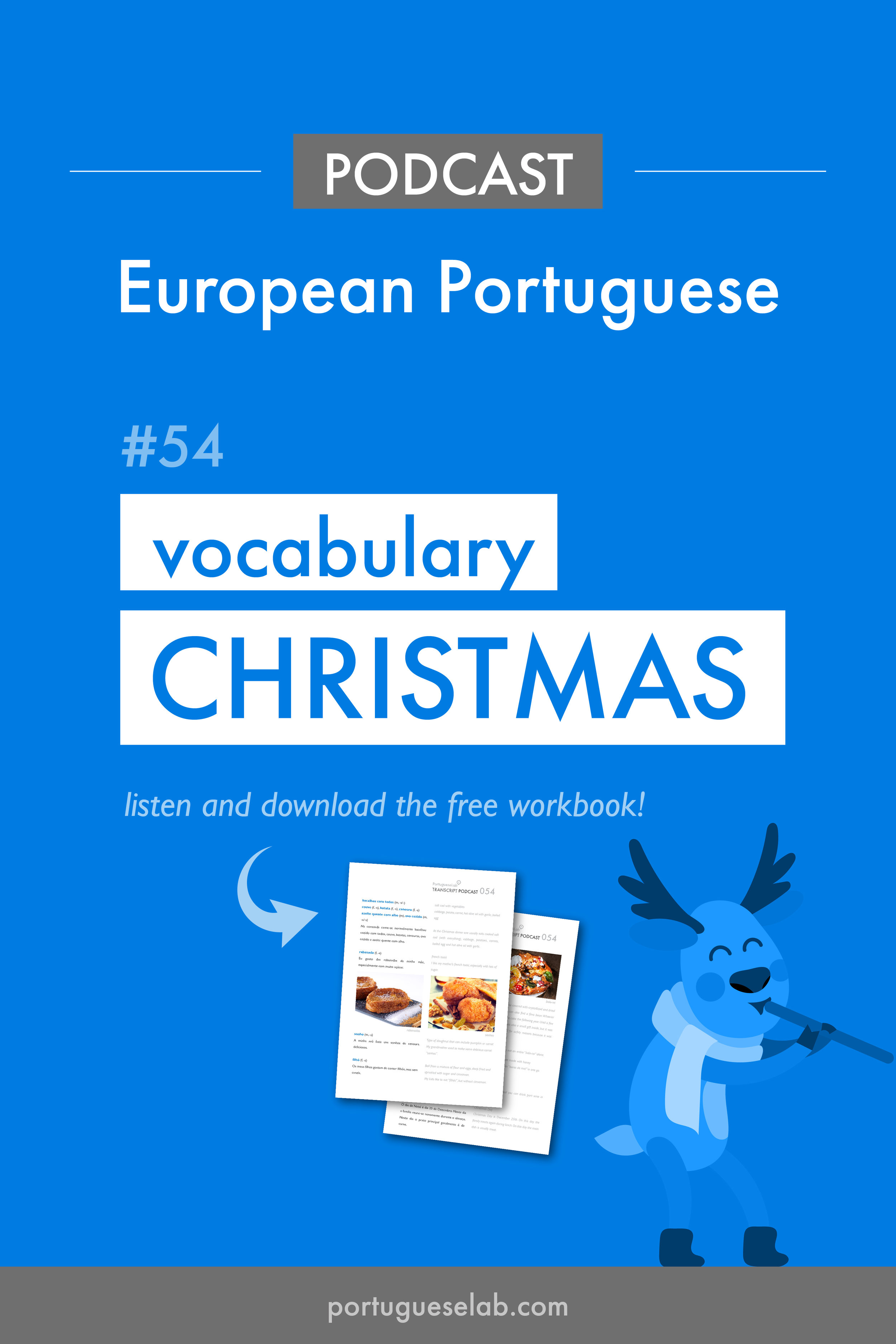 Portuguese Lab Podcast - European Portuguese - 54 - Christmas vocabulary.jpg