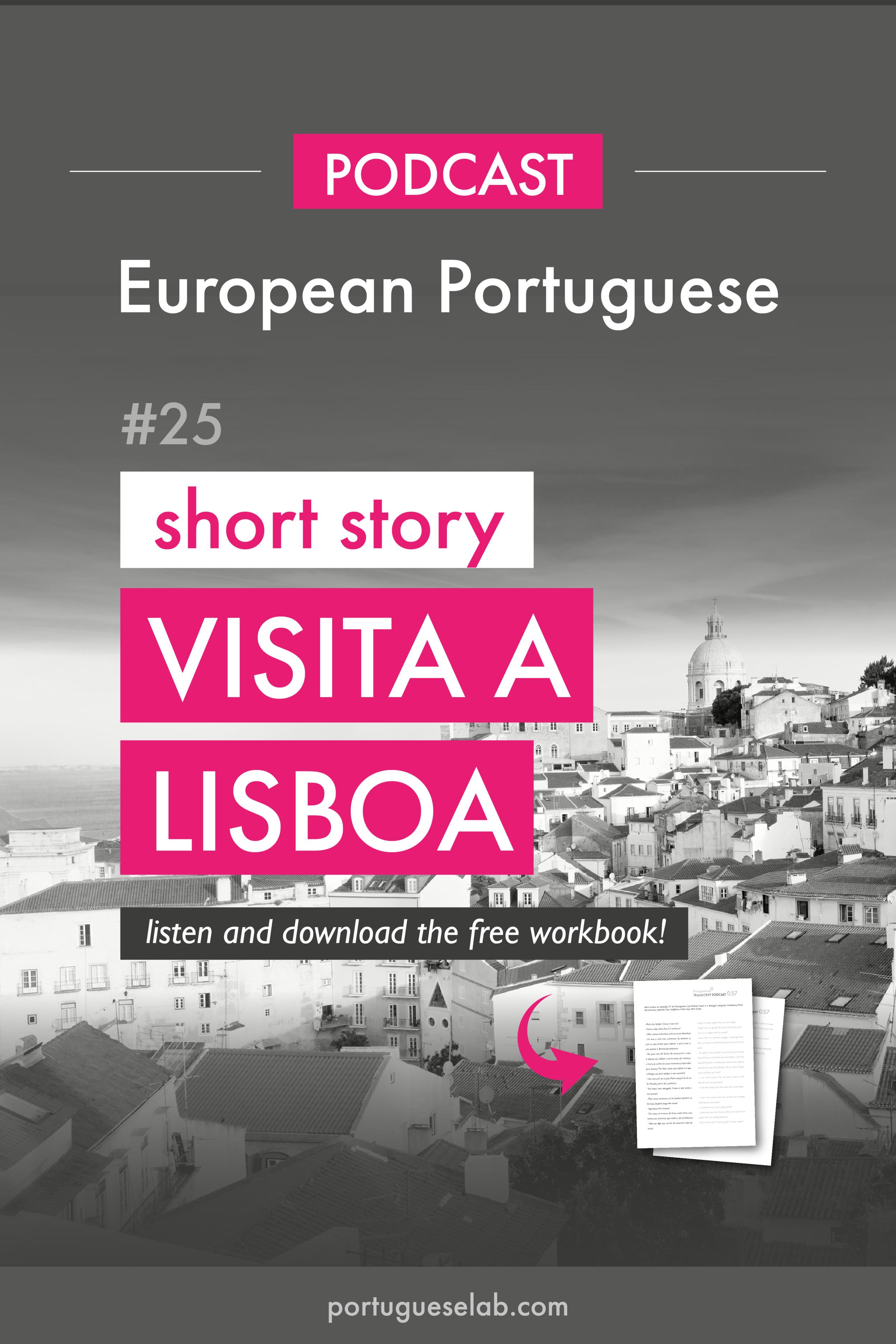 Portuguese Lab Podcast - European Portuguese - 25 - Viagem a Lisboa - short story.png