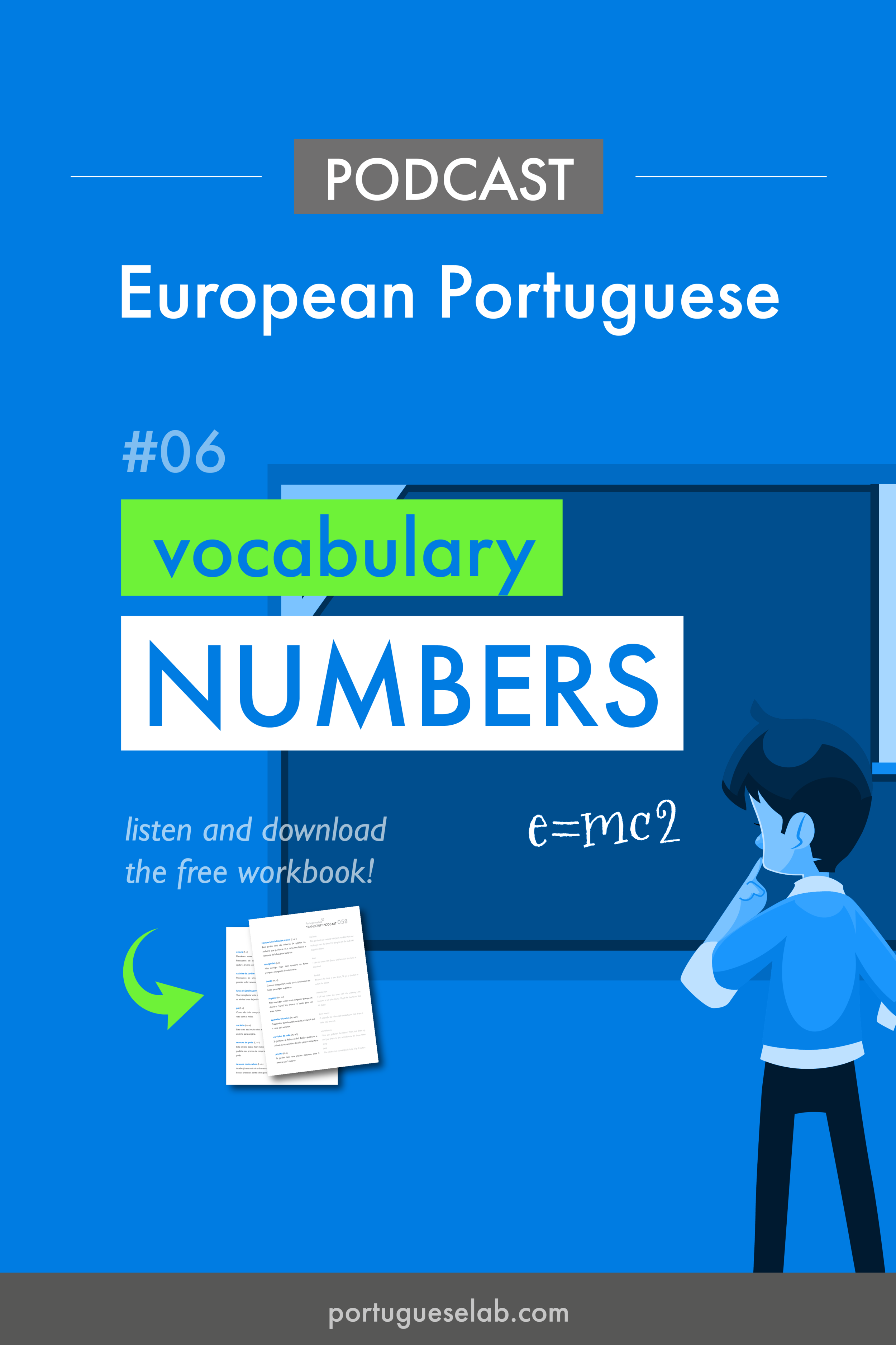 Portuguese Lab Podcast - European Portuguese - 06 - the numbers.png