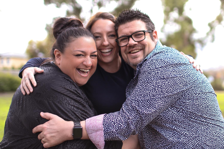 egg donor and intended parents celebrating journey melbourne