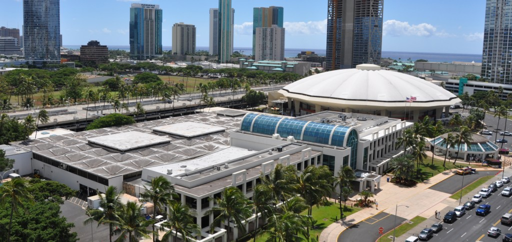 The event was planned to be held November 26th at the Neil S. Blaisdell arena in Honolulu
