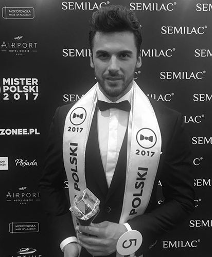 Jakub, the new Mister Polski: on to Mr World 2018!