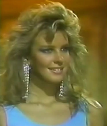 Caterina was a Miss World finalists in 1987, when Argentina returned to the Miss World pageant after the Falklands War. After her, no woman from Argentina ever placed again in the British pageant. It´s been 30 years...