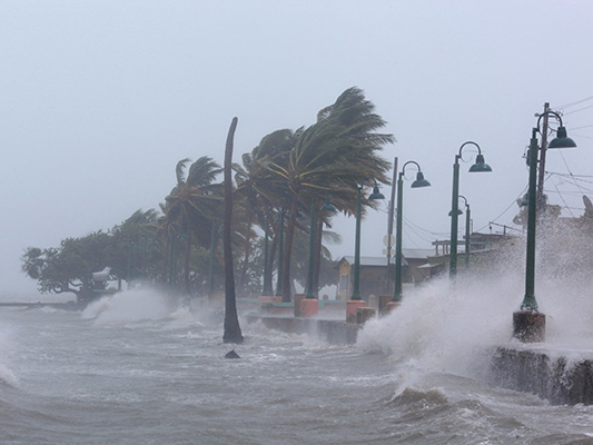 Two hurricanes battered Puerto Rico within a week