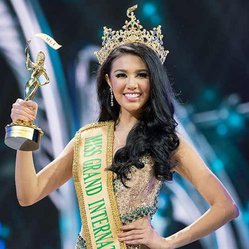 DOING IT FOR HER COUNTRY: Miss Grand International 2016, Ariska Putri Pertiwi from Indonesia