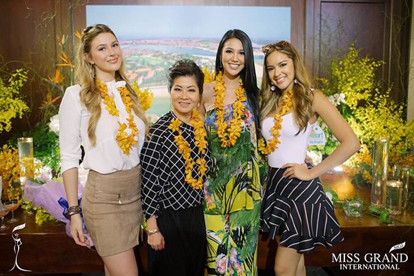 TIME IN THAILAND: 'My happiest moments were with my Miss Grand International family.'
