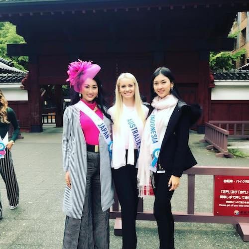 Japan, Australia, Indonesia