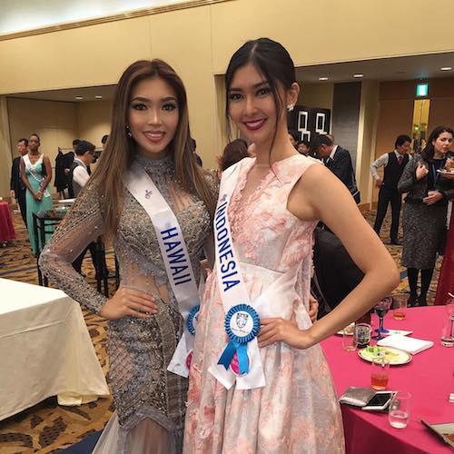 Hawaii and Indonesia