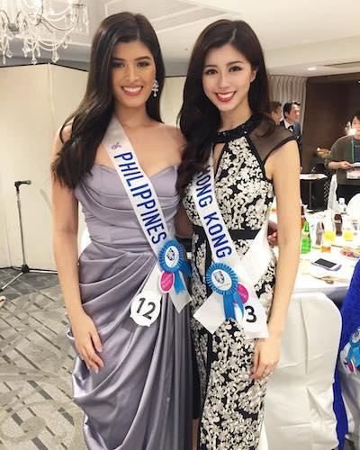 Philippines and Hong Kong