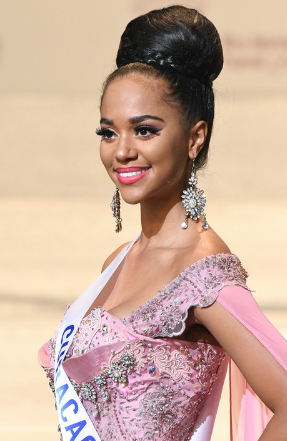 Miss Curacao was the runner-up