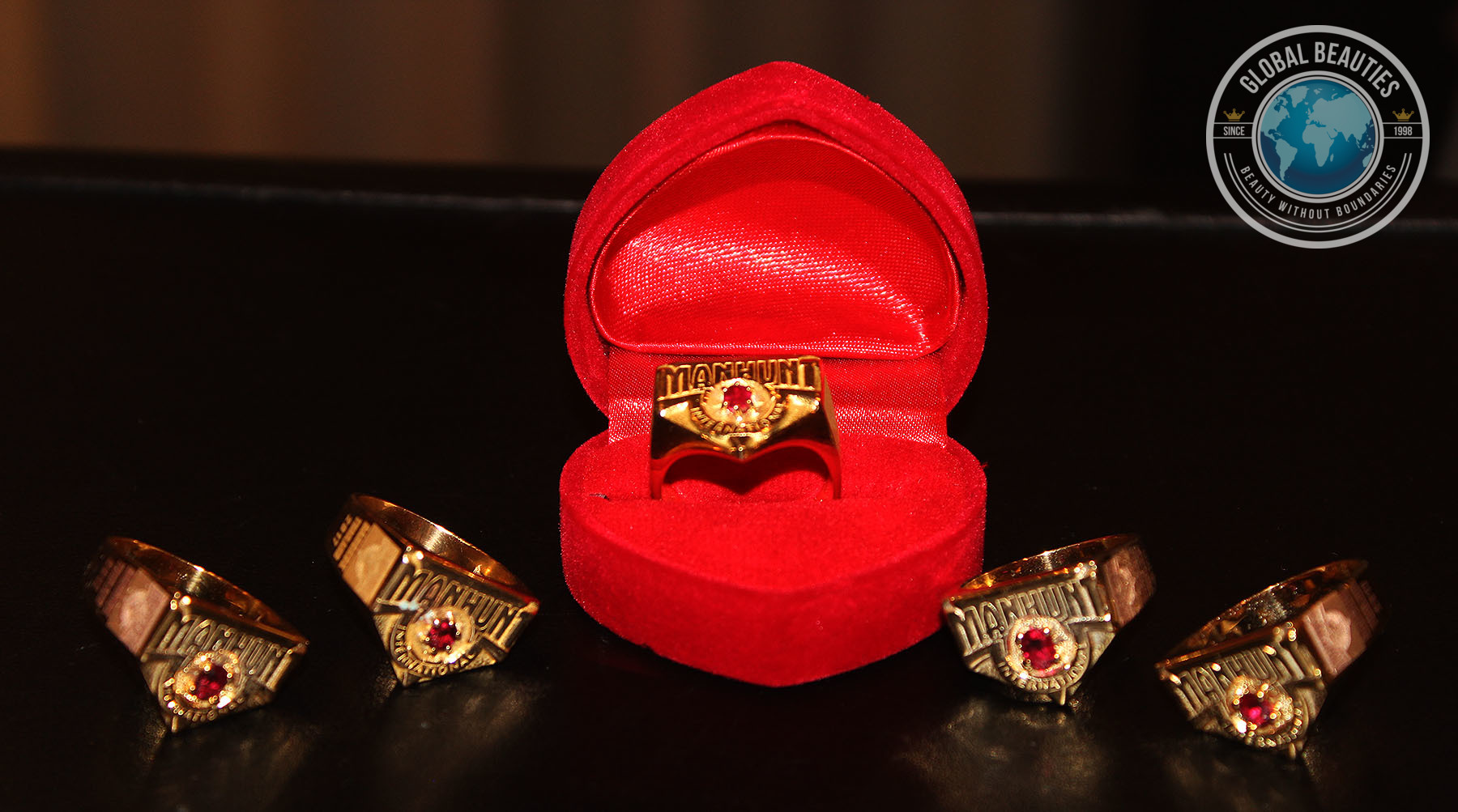 The Winner and the four runner-ups will get the spectacular rings as part of their prize package