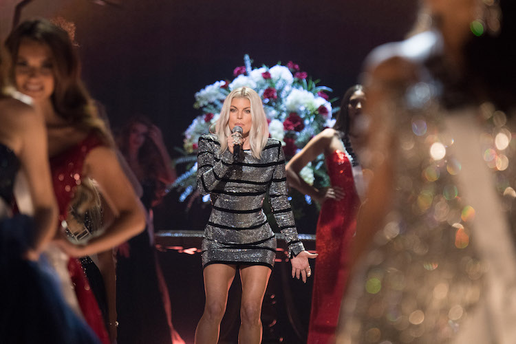 FERGALICIOUS: Superstar Fergie was brought in to perform. Miss Universe showed that they will go big or go home.