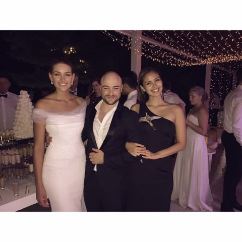 Werner on what every woman should have in her wardrobe: A pair of stunning heels. It can make any outfit look incredible. My contestants tease me because I say an outfit is not complete until she puts on her heels. (With Rolene Strauss and Miss World 2013, Megan Young, at Strauss' wedding)