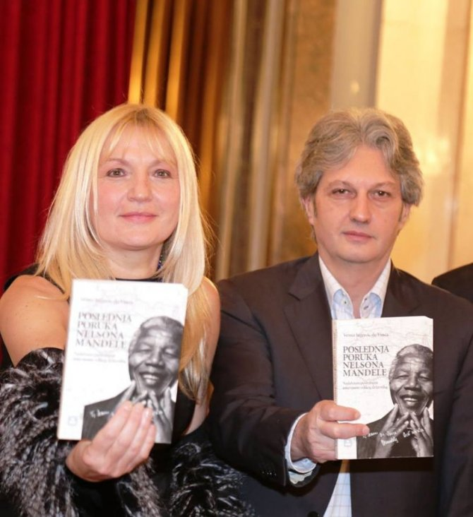 ABOUT NELSON MANDELA: He had so much warmth that only a short conversation with him inspired me enough to write an entire book about decoding his way of thinking.