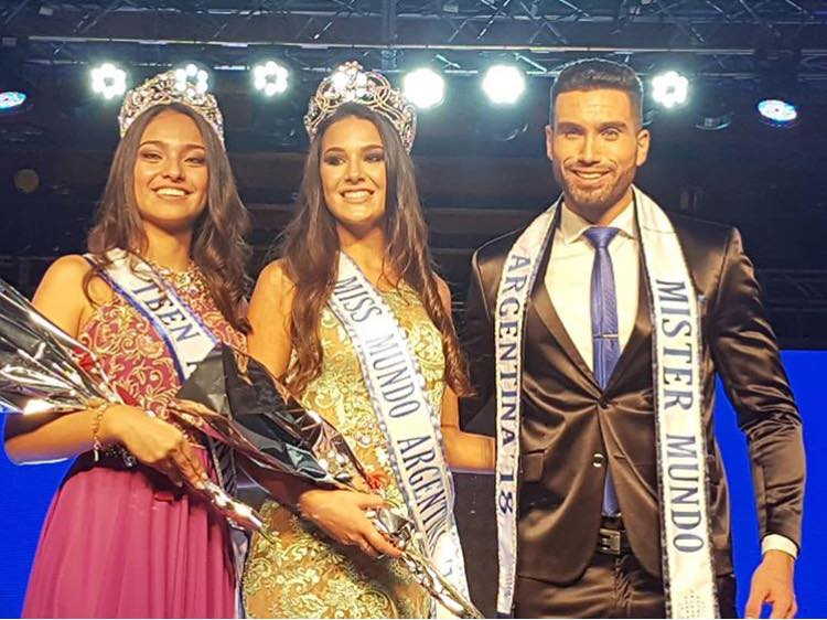 Miss Teen Argentina, MISS WORLD ARGENTINA and MISTER WORLD ARGENTINA 2018