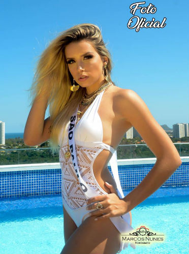 Stephanie will represent Brazil in Miss International 2018, but she is not Miss International Brazil 2018, explained the Brazilian pageant´s organizers.
