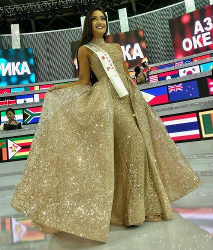 A phenomenon called Cook Islands: with just 17 thousand inhabitants and 3 years participating in Miss World, the Cook Islands placed twice and ranks 56th in the Miss World Ranking (2009-2018)!