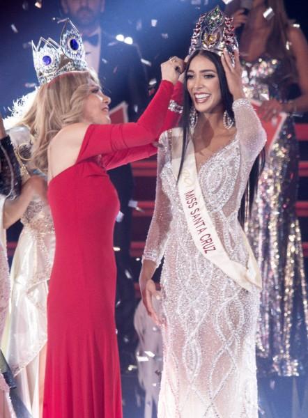 Miss Universe Bolivia 2019.