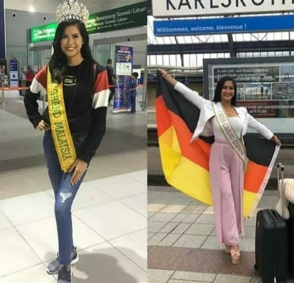 Malaysia and Germany have already touched down in Venezuela!